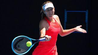 Sharapova, en el Abierto de Australia