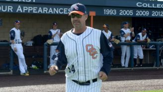 John Altobelli, entrenador de Orange Coast College