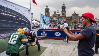 Una muestra de una fan experience en la Ciudad de México