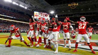 Chiefs, en festejo en el Super Bowl