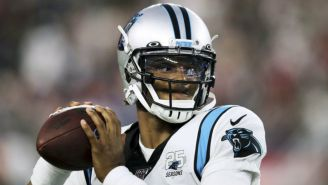 Cam Newton, QB de los Carolina Panthers