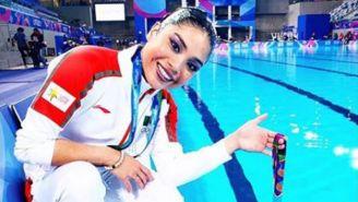 Teresa Ixchel Alonso García, natación artística mexicana