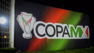 Logo de la Copa MX previo a un partido