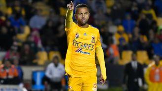 Rafa Carioca durante un duelo con los Tigres