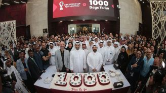 Embajada de Qatar en México celebró a 1000 días del Mundial