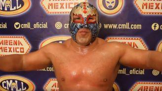 El Valiente, luchador de CMLL