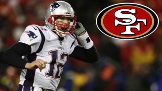 Tom Brady, en un juego con New England Patriots