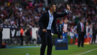 Rafael Puente durante el partido entre Atlas y Chivas