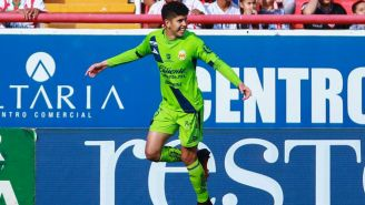 Vargas celebra el primer gol del encuentro