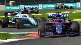Monoplazas en el GP de México en 2019