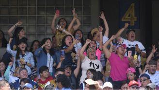 Aficionadas apoyan a los Pumas Femenil