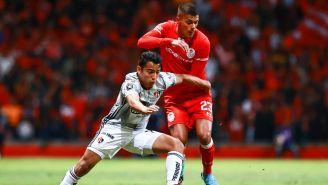 Partido entre Toluca y Atlas de la Copa MX