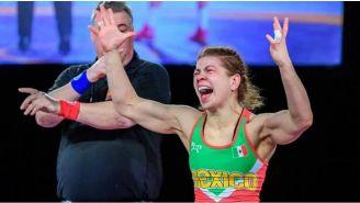 Jane Valencia explota de emoción cuando le dan la victoria