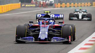 Monaplaza en un GP de la F1