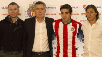 Presentación de Rodolfo Pizarro con Chivas