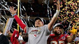 Mahomes, tras ganar el Super Bowl LIV