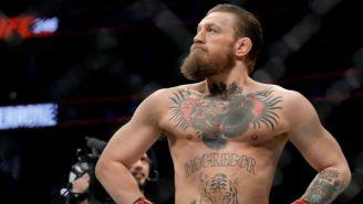 McGregor en pelea de la UFC