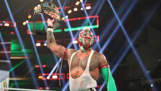 Rey Mysterio previo a una lucha de la WWE