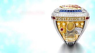 Washington Nationals reveló diseño de su anillo de la Serie Mundial 2019
