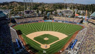 Dodger Stadium lleno en un juego de los Dodgers