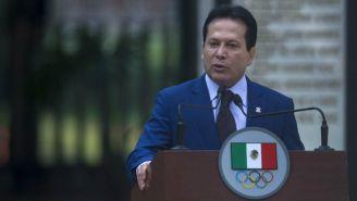 Daniel Aceves, presidente de la Asociación de Medallistas Olímpicos