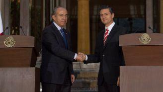 Calderón y Peña Nieto en reunión