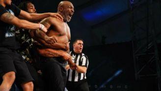 Mike Tyson en All Elite Wrestling