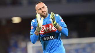 David Ospina previo a un duelo con Napoli