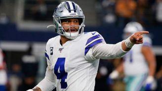 Dak Prescott, en un juego de los Cowboys
