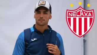 Lucas Passerini, delantero argentino de Necaxa