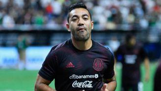 Marco Fabián jugando con la Selección Mexicana