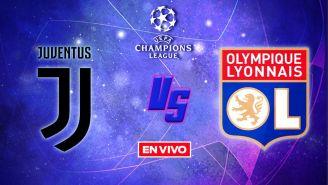 EN VIVO Y EN DIRECTO: Juventus vs Lyon Octavos de Final Vuelta