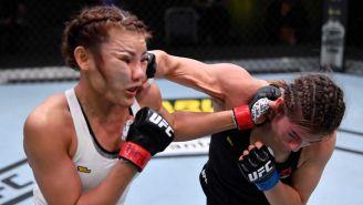 Alexa Grasso impacta con un golpe a Ji Yeon Kim