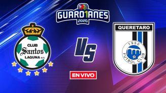 EN VIVO Y EN DIRECTO: Santos vs Querétaro Apertura 2020 J7