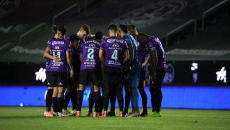 Mazatlán FC previo a un partido