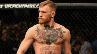 Conor McGregor en lucha de UFC
