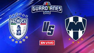 EN VIVO Y EN DIRECTO: Pachuca vs Monterrey Guardianes 2020 J10