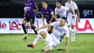 Jonathan Rodríguez tras tirar penal vs Mazatlán