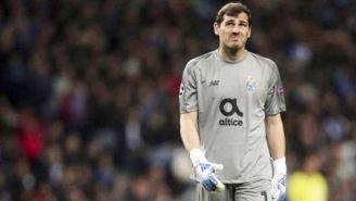 El arquero español, en un duelo en la Liga de Portugal