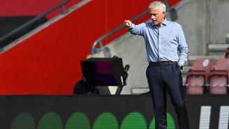 Video: Mourinho interrumpió entrevista de Kane tras goleada ante Southampton