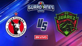 EN VIVO Y EN DIRECTO: Tijuana vs Juárez Guardianes 2020 J11