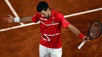 Novak Djokovic reconoce el triunfo de Nadal