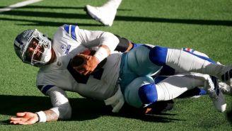 Dak Prescott sufrió una fuerte lesión