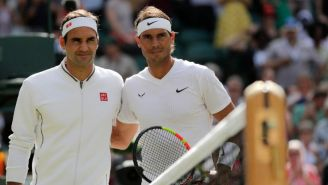 Federer y Nadal en Wimbledon