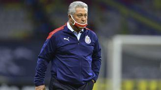 Víctor Manuel Vucetich previo a un duelo de Chivas en Liga MX
