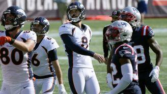 NFL: Denver venció a New England con seis goles de campo de Brandon McManus
