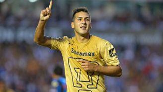 Ismael Sosa como jugador de Pumas
