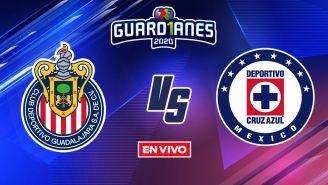 EN VIVO Y EN DIRECTO: Chivas vs Cruz Azul Apertura 2020 J15