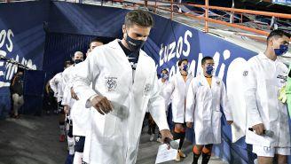 Pumas: Universidad y Pachuca rindieron homenaje a los médicos