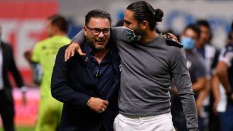 Antonio Mohamed en la Final de la Copa MX
